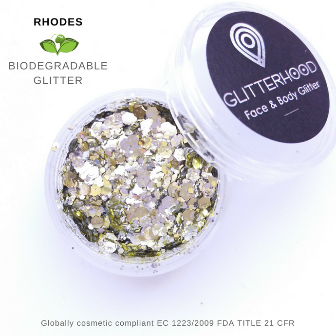 RHODES - BIO GLITTER by Glitterhood.com