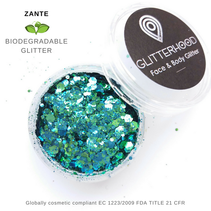 ZANTE -  BIO GLITTER by Glitterhood.com