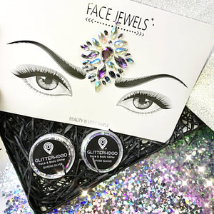 SILVER FESTIVAL GLITTER BUNDLE by Glitterhood.com