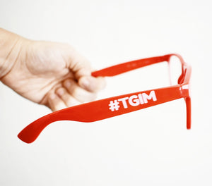 #TGIM Red Glasses
