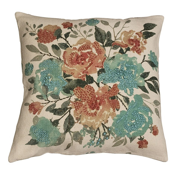 French Country Collections Cushion - Fleur Floral