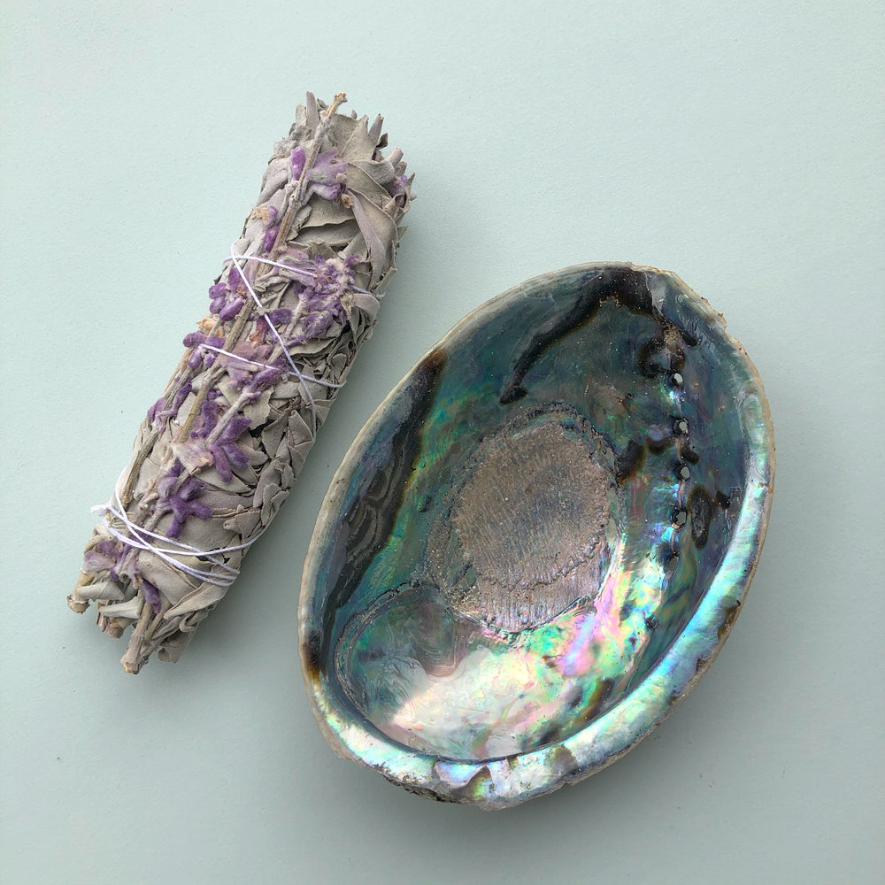 Shell + Lavender Smudge Kit - Medium