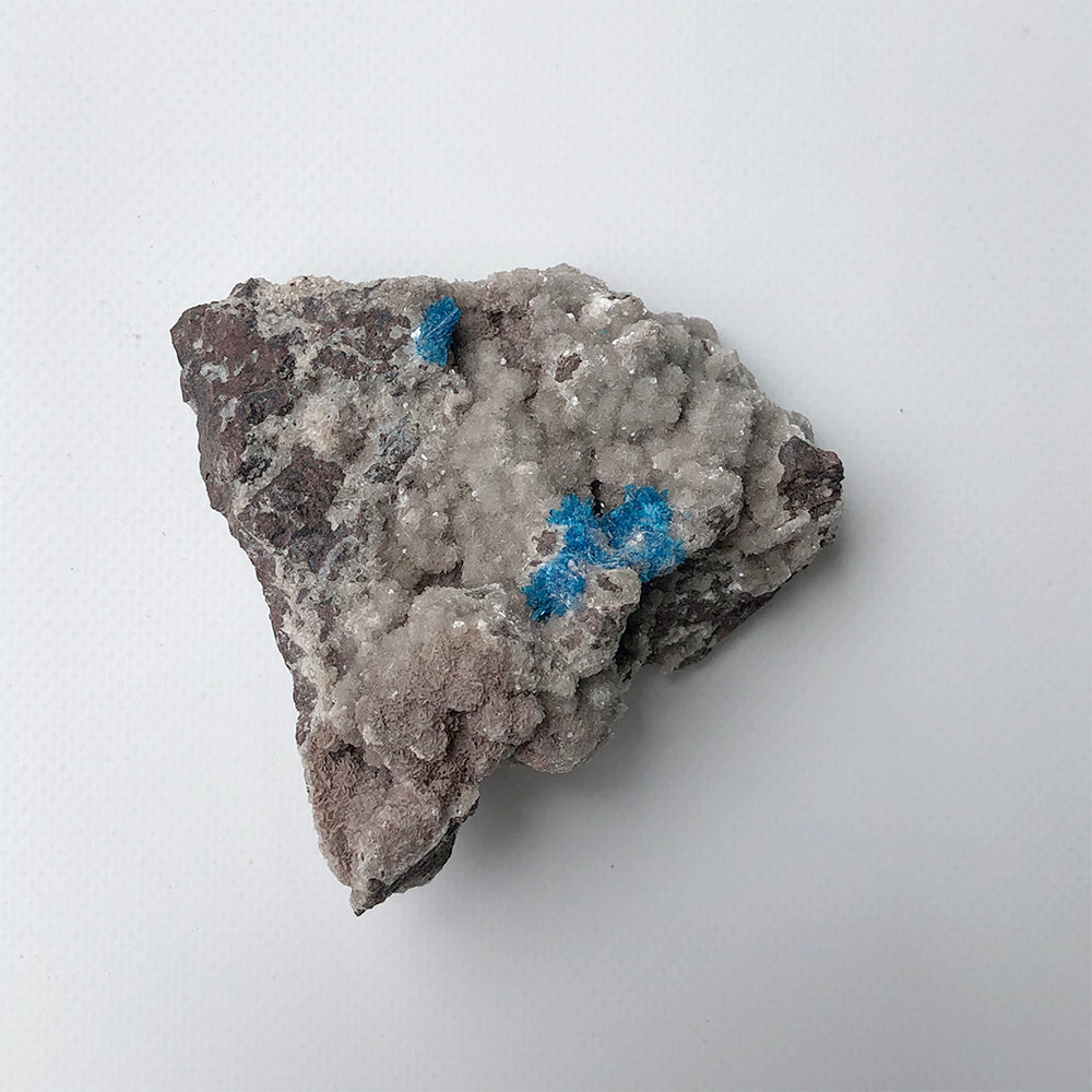 Cavansite Crystal Cluster 02