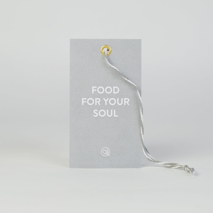 "Gift Tag | ""Food For Your Soul"""