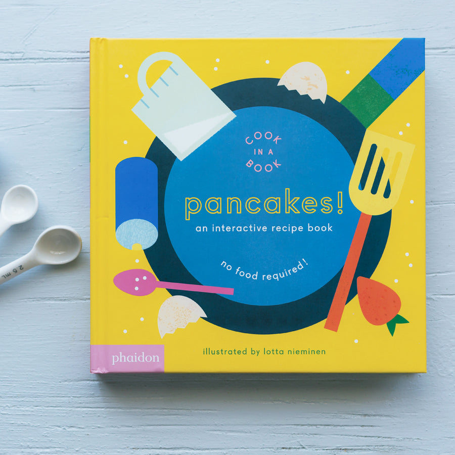 Phaidon Press | Interactive Book | Pancakes
