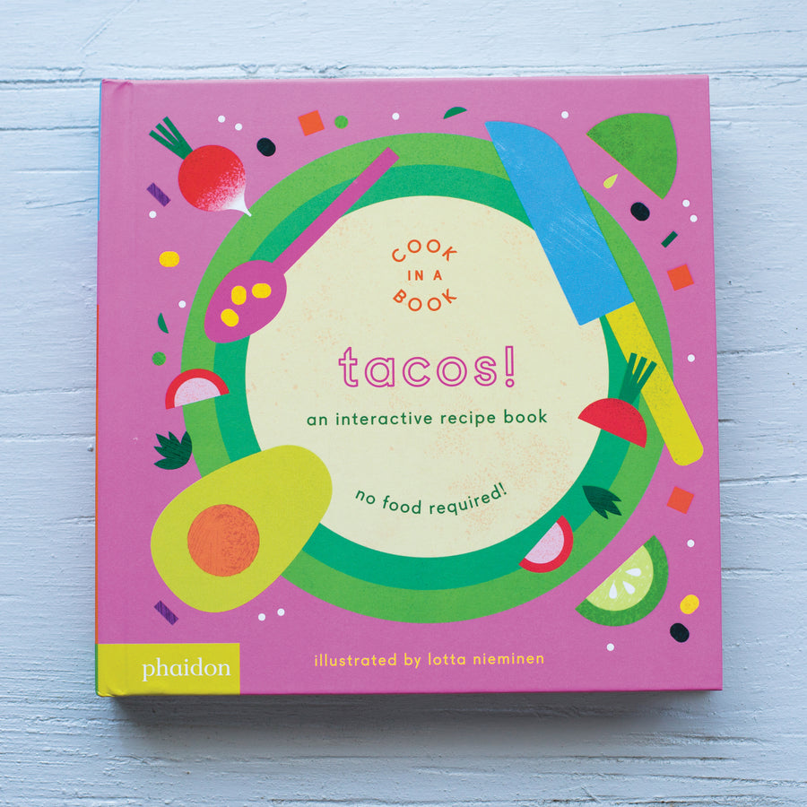 Phaidon Press | Interactive Book | Tacos