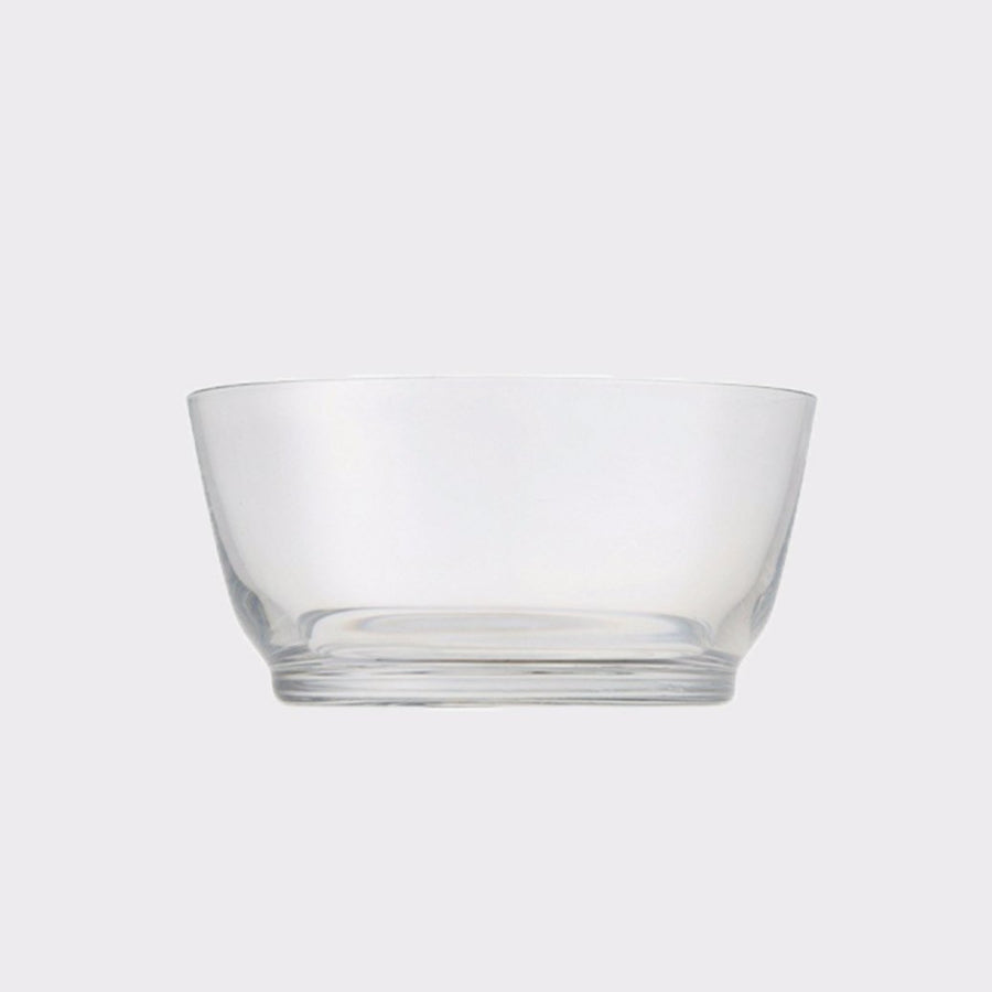 HIBI bowls are made of high quality glass and beautifully enhance the dishes. The bowl comes in two sizes and enhances your presentation on the table.