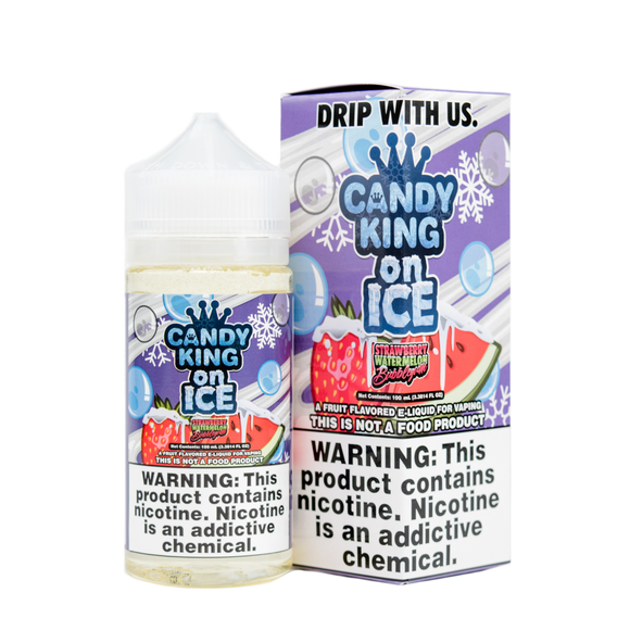 Candy King - Watermelon Bubble Gum On Ice 100ml