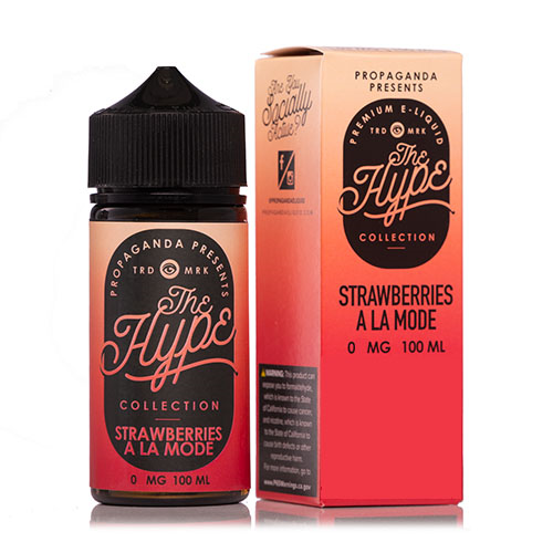 The Hype Collection - Strawberries A La Mode 100ml