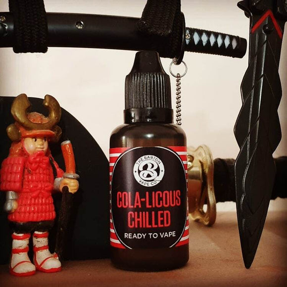 The Barton Vape Co - Cola-Licous Chilled - 60ml