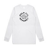 CENTRAL CALIFORNIA LONG-SLEEVE TEE- WHITE - RULA FIT