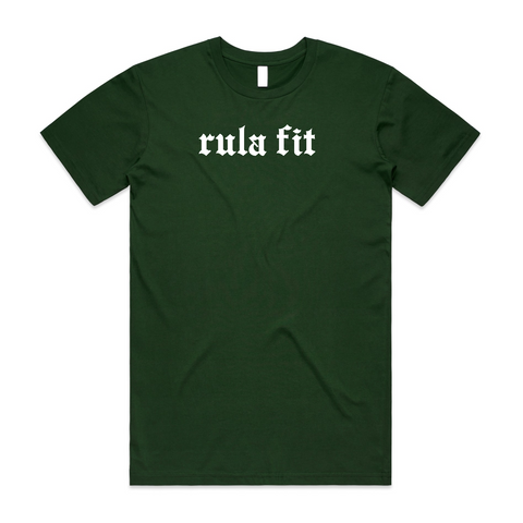 Staple Tee-Forest Green - RULA FIT