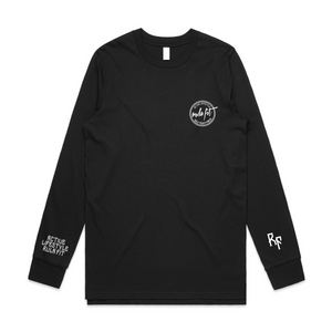 Active Lifestyle Longsleeve T-shirt- Black - RULA FIT