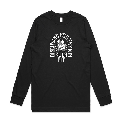 Discipline For The Win Long Sleeve - Black - RULA FIT