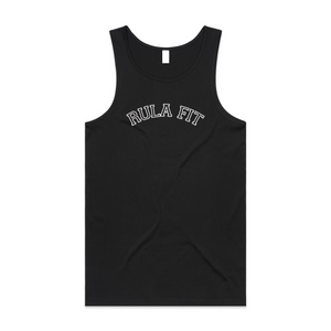 *PRE-ORDER* UNI RULA FIT tank top- BLACK