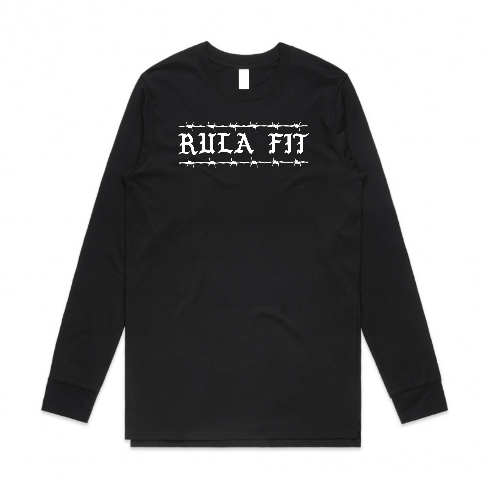 *PRE-ORDER* BARBWIRE  RULA FIT LONG SLEEVE-BLACK