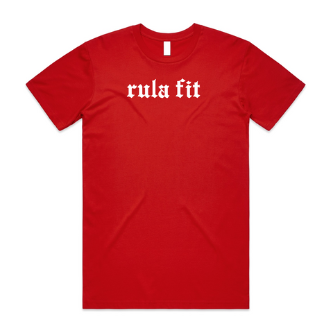 Staple Tee-RED - RULA FIT