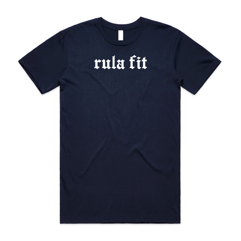 Staple Tee-Navy Blue - RULA FIT