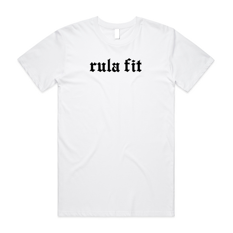 Staple Tee-White - RULA FIT