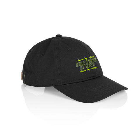 Rula State of Mind Cap-Black - RULA FIT