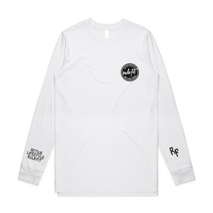Active Lifestyle Long sleeve T-shirt- White - RULA FIT