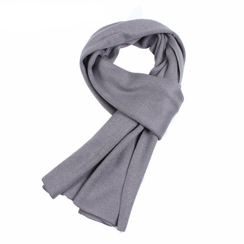 Difanni Luxury Solid Wool Scarf