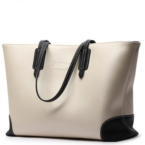 Tote Leather Female Handbag