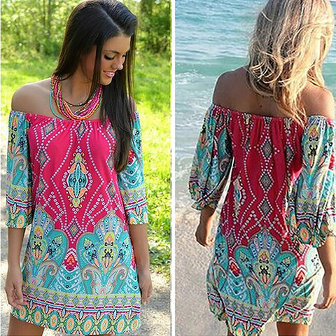 Hippie Vestidos Chic Boho Dress