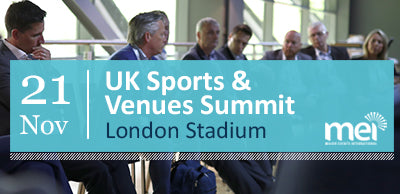 UK Sports and Venues Summit - Limited member discount offer.