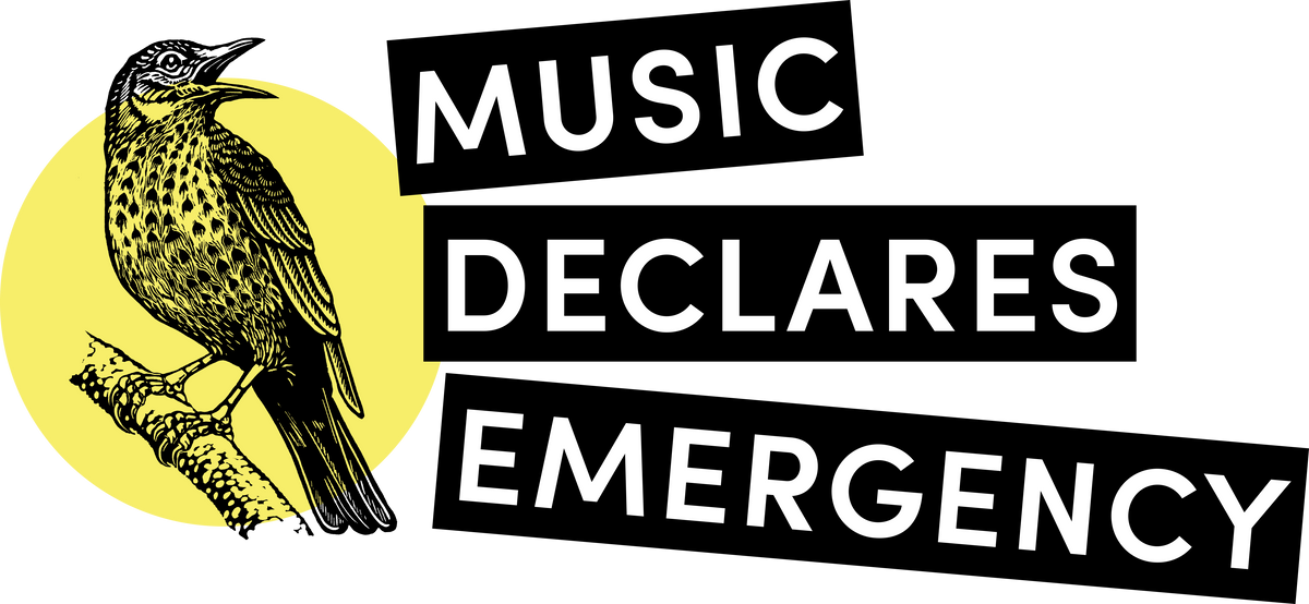 UK music community makes historic declaration of climate and ecological emergency.