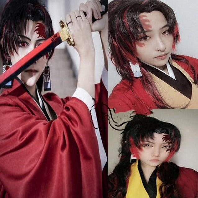 Yoriichi Demon Slayer Cosplay Wig