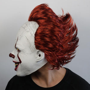 "Halloween ""It"" Clown Horror Mask - Goth Mall"