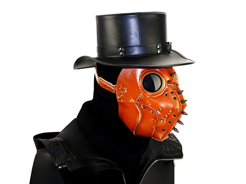 Steampunk Copper Plague Doctor Mask