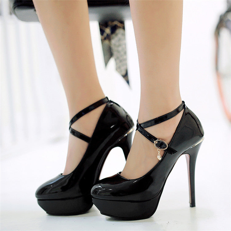 The Glossy Doll Heels
