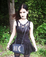 Pentagram Harness Bra - Goth Mall