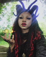 The Baphomet Headpiece - Goth Mall