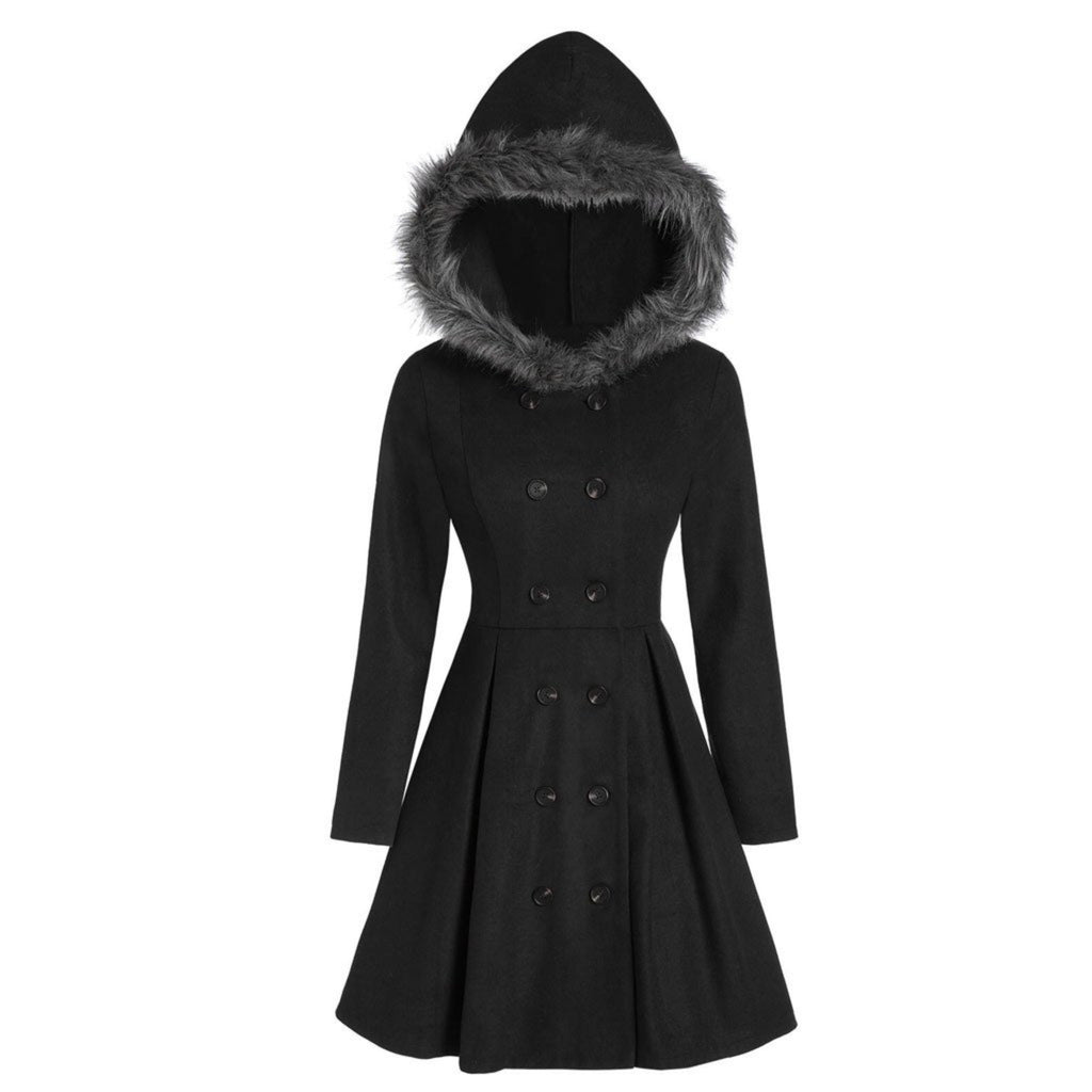 The Dread Riding Hood Coat - Goth Mall