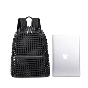 Spiked Back Pack Bag