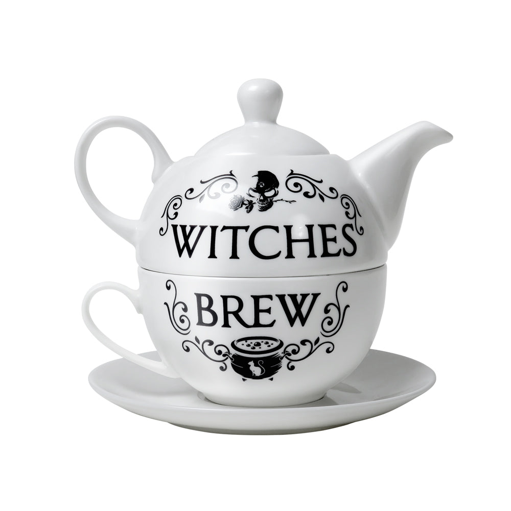 Witches Brew Tea Set - Goth Mall