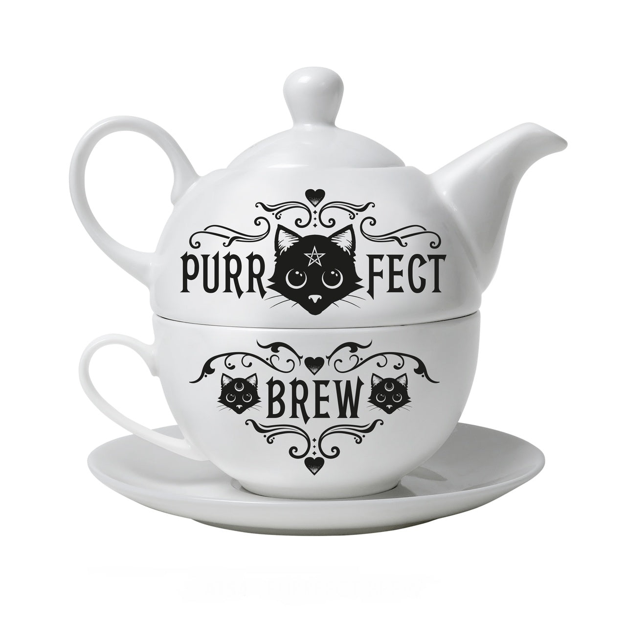 Purrfect Brew Tea Set