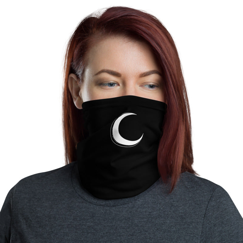 Crescent Moon Face Shield - Goth Mall