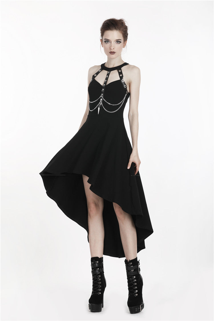 The Veronika Harness Dress - Goth Mall
