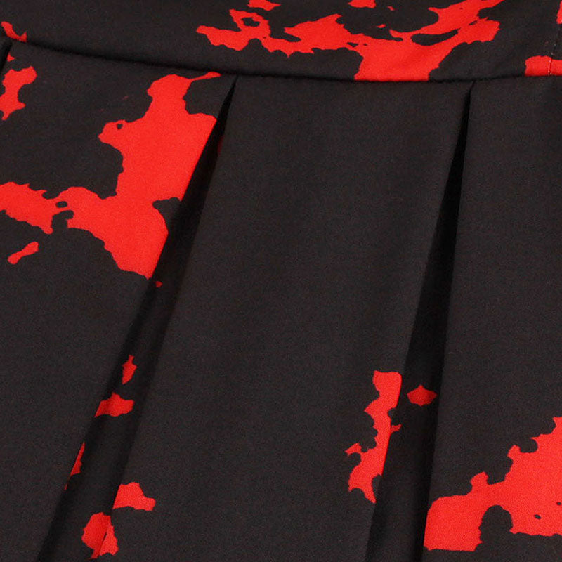 Vintage Vampire Pin-Up Goth Dress - Goth Mall