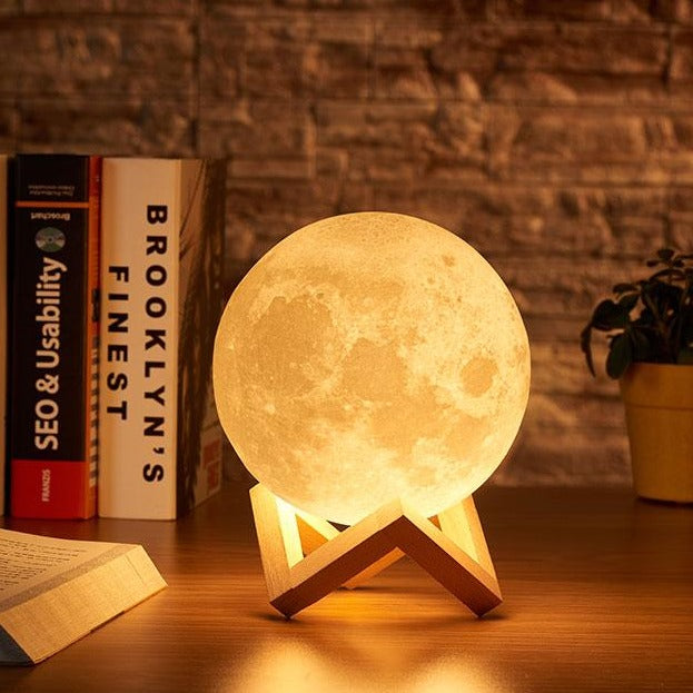 Dark Moon Lamp