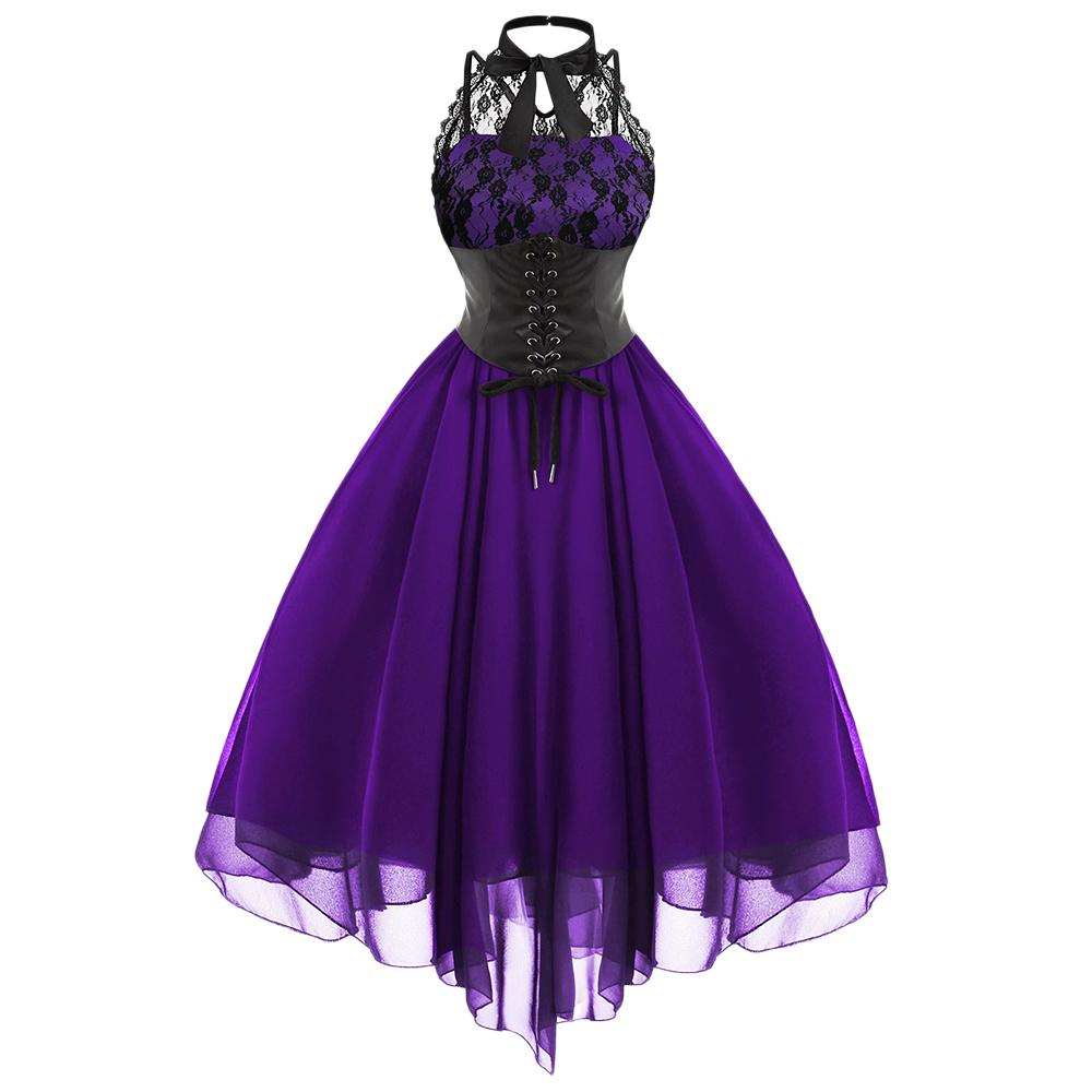 The Gothic Gala Gown