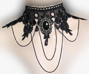 Boho Gypsy Goth Necklace - Goth Mall