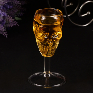 Skull Wine Glass - Goth Mall