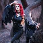The Latex Morticia Gown
