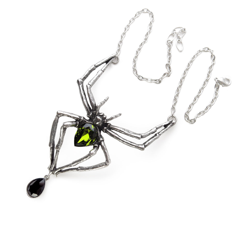 Emerald Venom Necklace - Goth Mall