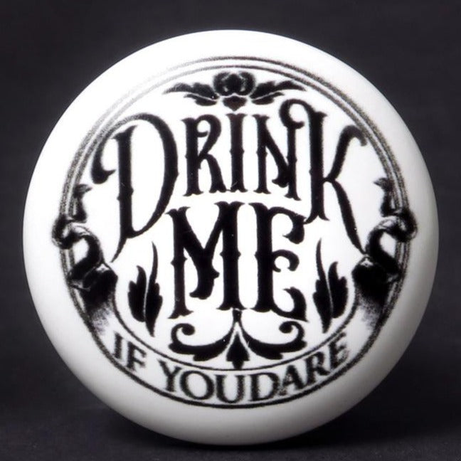 Drink Me If You Dare Bottle Stopper
